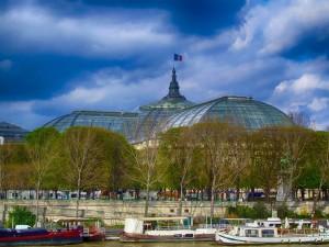 Bezienswaardigheden Parijs. Een beeld van het Grand Palais