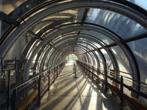 bezienswaardigheden parijs gang van het Centre Pompidou